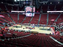 Thomas And Mack Center Seating Chart Thomas And Mack Center Section 116 Rateyourseats Com