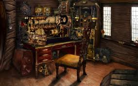 It is not day by day which you come across a concept like Awesome Steampunk  Room