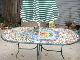 mosaic patio table mosaic patio table inspirational lovely custom oval patio table with inside amusing how mosaic patio table