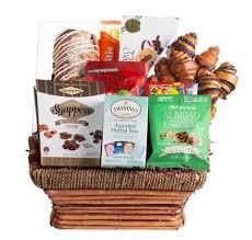 thinking of you condolence gift basket