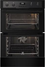 electrolux grill. electrolux catalytic integrated 60cm double oven, black eod5460aak grill
