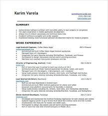 Mobile Developer Resume Resume De Developpeur Android Awesome Sample Developer Resume Cvs