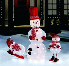 exterior fantastic large outdoor decorations snowman abominable