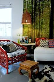 painted wicker furniturePainted Rattan and Wicker Furniture  Apartment Therapy