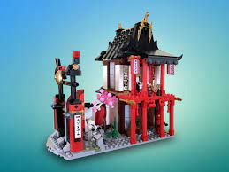 Ninjago Monastery of Spinjitzu to Garden Teahouse