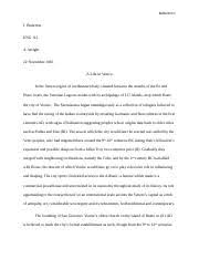 gossip by prose extended definition essay chapter pages  5 pages a life in venice