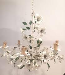 vintage italian tole chandelier
