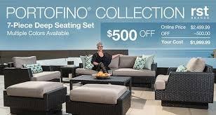 costco portofino 7 piece seating set