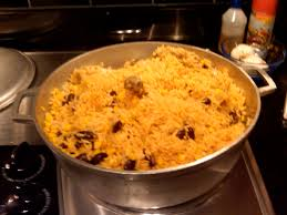 puerto rican rice and beans with chicken. Beautiful With Puerto Rican Chicken And Rice Yum Mama Throughout Rice And Beans With A