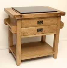 rustic oak kitchen island with granite top small vancouver guarantee