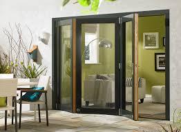 ultra white or grey aluminium clad oak bifold door sets