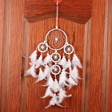 Big Dream Catcher For Sale Dreamcatcher with Big White Feathers My Feng Shui Store 60
