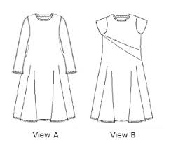 A Line Dress Pattern Unique ALine Dress E48 Christine Jonson Patterns