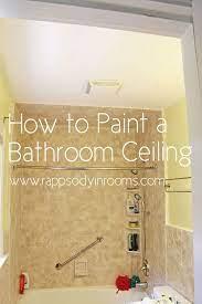 bathroom ceiling painting bathroom