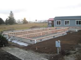 After the foundation walls are cured, we are ready for the new modular home.