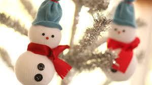 DIY Snowmen Ornaments - YouTube