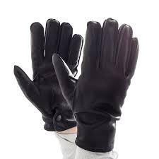 slash resistant prixseam pyrohide leather police gloves