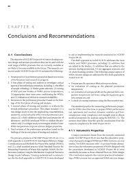 Concrete Mix Design Conclusion Chapter 4 Conclusions And Recommendations Mix Design