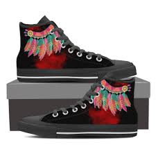 Galaxy Design Shoes Colorful Feather Sprayed Paint Shoes For Women