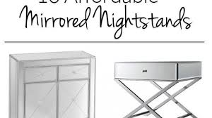 Get A Mirrored Nightstand Without Breaking The Bank! All These Glam Options  For Your Bedroom Are In The $100 $300 Range!