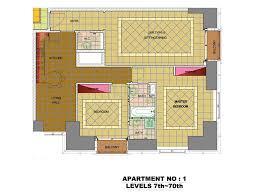 2 bedroom apartment in dubai marina. level 7-70 apartment 1 - 2 bedroom type b in dubai marina