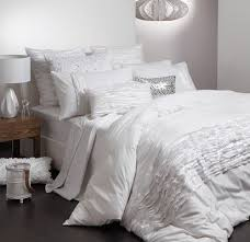 11 best Doona covers images on Pinterest   Bed linens, Bedroom ... & Logan and Mason ELLA WHITE Queen Size Bed Doona Quilt Cover Set 3pc BRAND  NEW Adamdwight.com