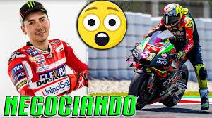 Jorge LORENZO SERÁ PILOTO de APRILIA MOTOGP como probador en Moto GP 2021  😳 - YouTube