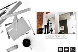 Modern Apartment Brochure By FlatpixelStudios On Creative Designs Awesome Apartment Brochure Design