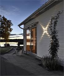 contemporary outside lighting uk. exterior aluminium wall light with star beam contemporary outside lighting uk