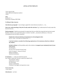 Letter Template For Word Click Here To An Appeal Letter Template Word Doc