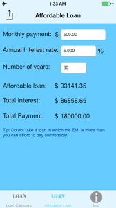 Interest And Amortization Calculator Simple Loan Calculator On The App Store