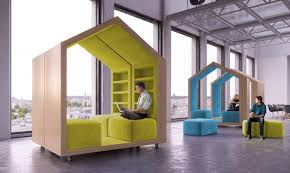 exceptional small work office. dymitr malcewu0027s tree house modules provide privacy in openplan offices exceptional small work office