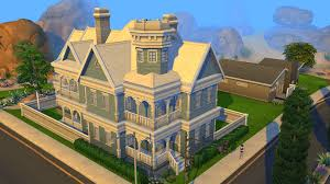 Small Picture sims 4 blue victorian house by ramborocky on deviantart the 25