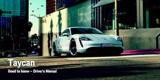 Free online service and repair manuals for all models. 2020 Taycan Drivers Manual Owners Manual Pdf Porsche Taycan Forum Taycanforum Com