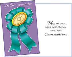 36017 Six Graduation General Greeting Cards With Six Envelopes
