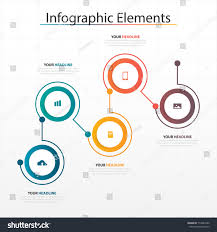 Web Design Process Infographic Modern Business Timeline