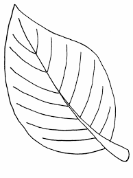Small Picture To Print Coloring Page Of A Leaf 84 On Free Colouring Pages with