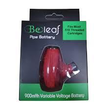 Beleaf Pipe Cbd Oil Vape Pen Battery 900mah 0 5 0 8 1 0ml