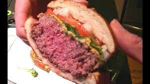 Hamburger Patty Temperature Chart Burger Sous Vide Medium Rare 1080p