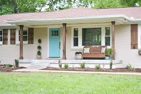 paint colors that go with cedar siding and brick