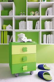 contemporary kids bedroom furniture green. contemporary kids bedroom furniture green paint on the wall white solid wood shelves lacquered m