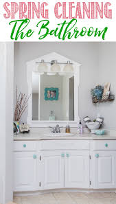 bathroom spring cleaning guide everything you need to get your bathroom cleaned from top to