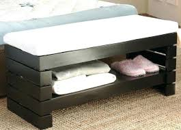 end of bed storage bench. Wooden Bedroom Storage Bench Benches End Of Seat Bed E