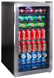 Undercounter Beverage Refrigerator Glass Door Newair Ab 1200 126 Can Beverage Cooler