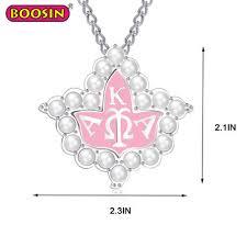 dual use alpha kappa alpha aka letter pearl sorority jewelry aka pearl charm for women