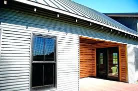 exterior siding panels corrugated metal design cedar trim what is shed