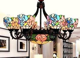 stained glass chandeliers antique stained glass chandelier 8 light for bedroom chandeliers stained glass lights stained glass chandeliers