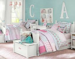 interesting pottery barn kids room two bed and double bed up and down bed