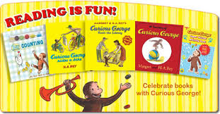 curious george books page at universal studios