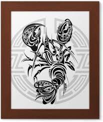 Fototapeta Znamení Raka Tetování Design Pixers žijeme Pro Změnu